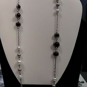 Riata long strand necklace Grace Adele